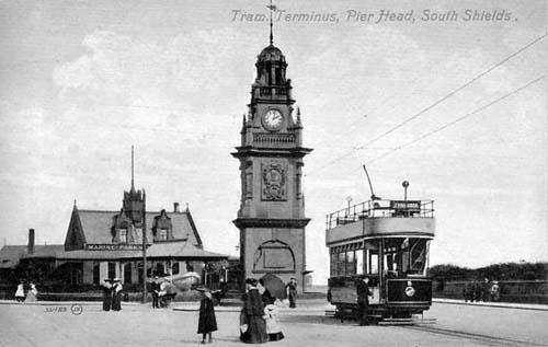 The pier head tram terminus