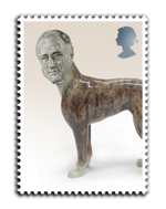 Roosevelt the dog's stamp