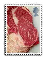 Tender meat stamp