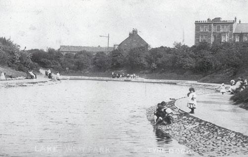 West Park lake