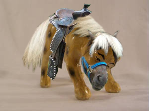 Hitler pony china dog
